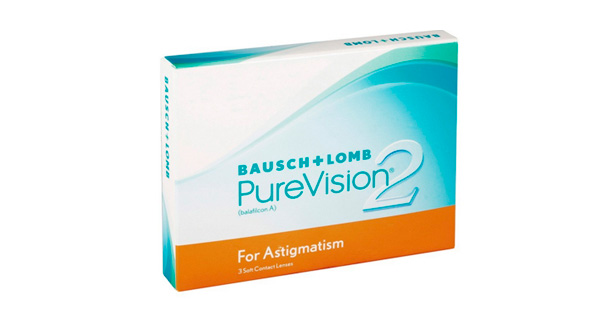 PureVision 2 HD For Astigmatism (3 Lentillas)