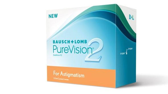PureVision 2 HD For Astigmatism (6 Lentillas)