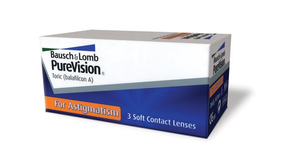 PureVision For Astigmatism (3 Lentillas)