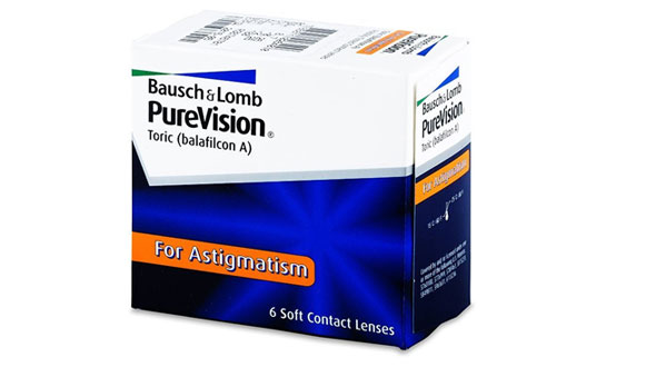 PureVision For Astigmatism (6 Lentillas)